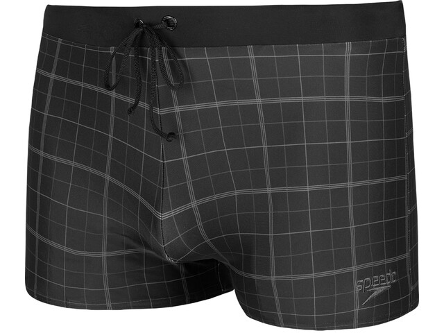 speedo Valmilton Aquashorts Men black/oxid grey/usa charcoalv2